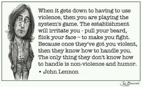 John Lennon on Humour